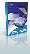 Scan-n-Stitch Deluxe - Advanced stitching technology creates perfect digital copies of large sized items in just seconds