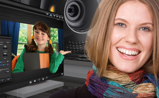 Capture awesome HD and 3D images or videos with your webcam; Easy-to-use and ...