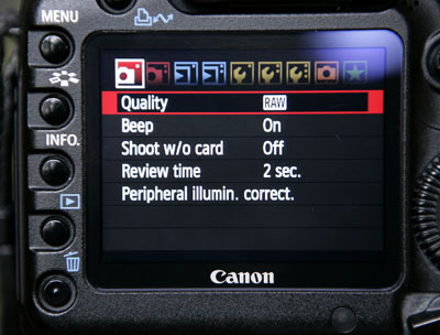 Introduction to Canon RAW Files