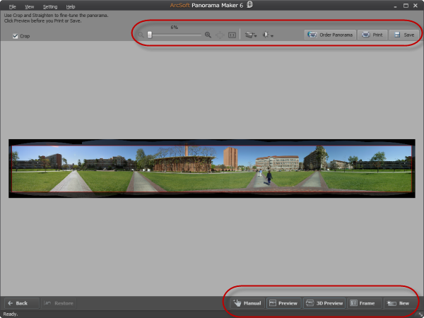 How to shoot photos for panorama stitch for View maker