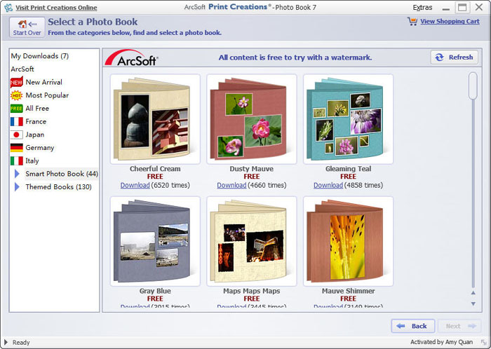How to make photo book with excellent album software for Windows/Mac: www.arcsoft.com/topics/print-creations/album-software.html