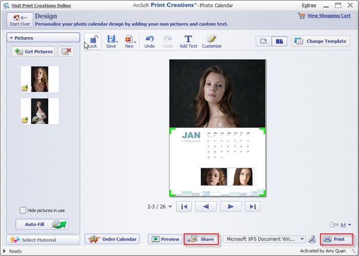 mac calendar maker