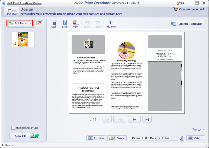 How to make a brochure that looks professional on windows mac for How to design a brochure in word