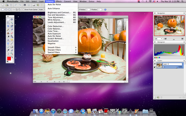 Photo Editor for MacBook Pro