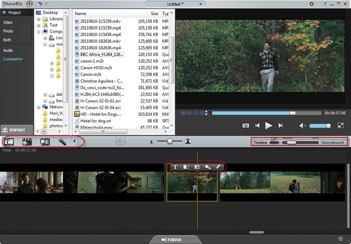 Edit HD Camcorder Video