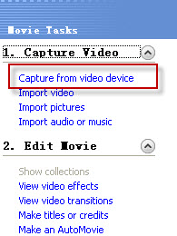 Import Camcorder Video to Windows Movie Maker