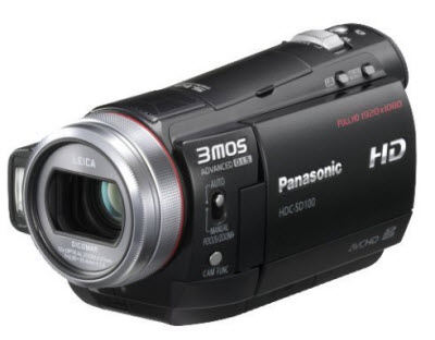 Import Panasonic HDC Video